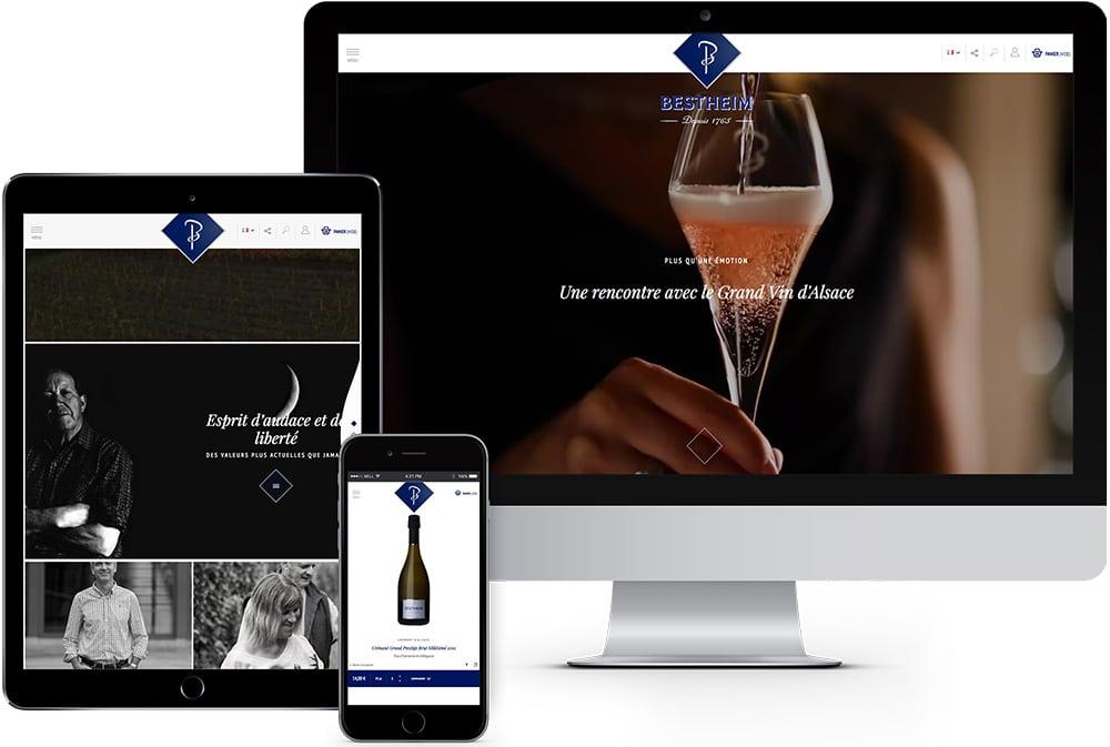 bestheim site ecommerce