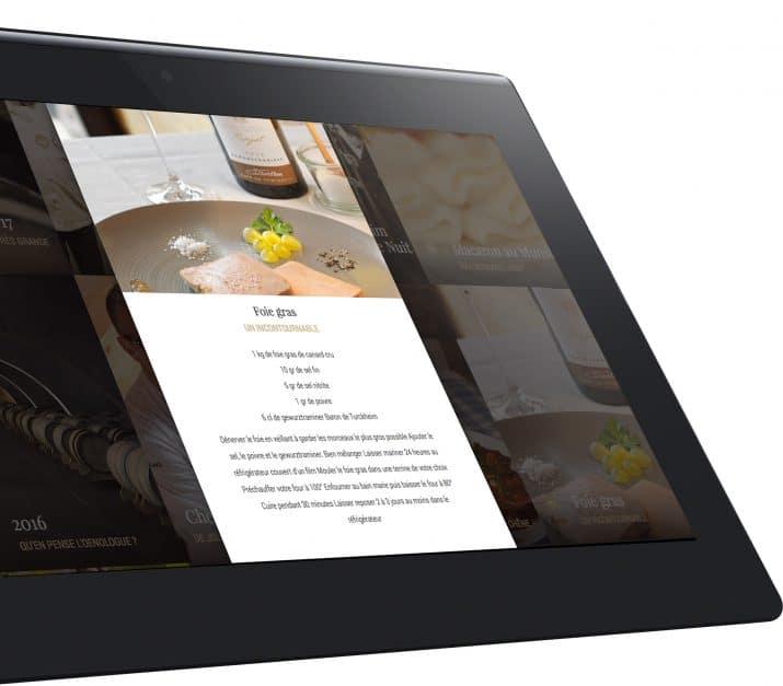 vin et gastronomie site internet