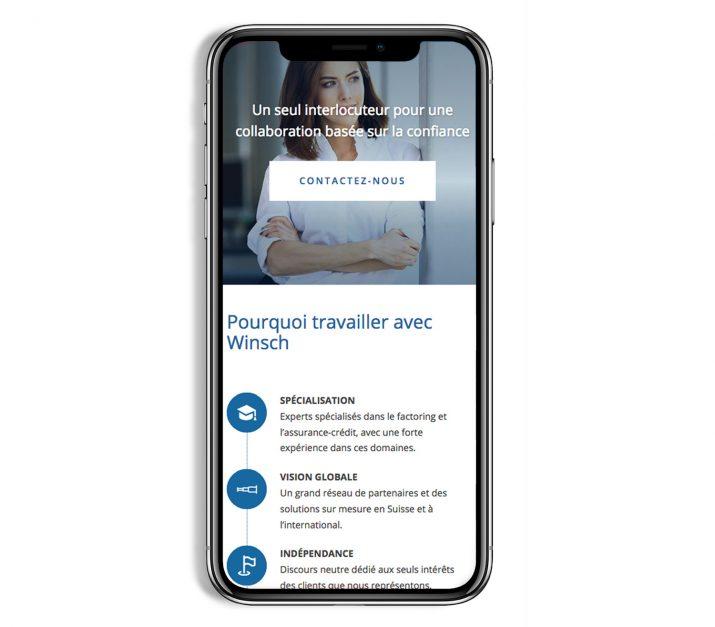 site web compatible smartphone